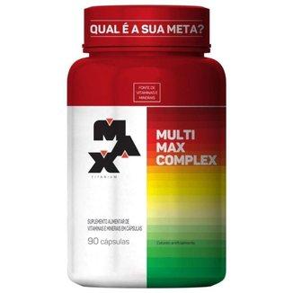 Multimax Complex - 90caps - Max Titanium