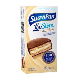 Multipack Alfajor LevSlim Chocolate Branco C/ 2 Unid.