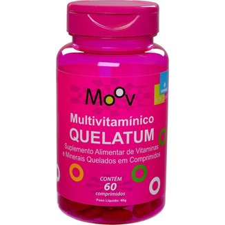 Multivitamínico A-z com Minerais Quelatos 60 Comprimidos
