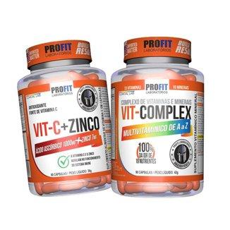 Multivitamínico A-z Multi Complex + Vitamina C 1000mg Profit
