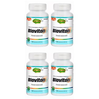 Multivitamínico Bioviton - 4x 120 Cápsulas - Unilife