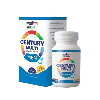 Multivitamínico Century Homem - 60 Comprimidos - VitGold