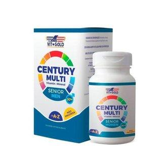Multivitamínico Century Senior Homem - 60 Comprimidos - VitGold