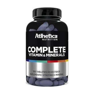 Multivitamínico Complete Multi-Vit 100 Tabs - Atlhetica Nutrition