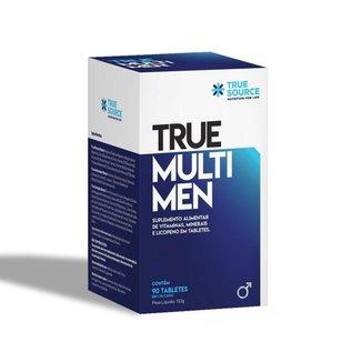 Multivitamínico Homem True Multi Q10 90 Tabletes True Source