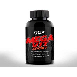 Multivitamínico Mega Vit Sport 100 Tabletes   Nbf