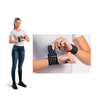 Munhequeira elástica protetor de punho musculação