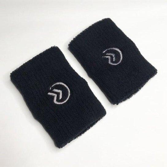 Munhequeira Onset fitness Tennis Wristband -  Bla - Preto