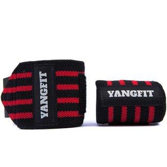 Munhequeira Profissional Para Musculação LPO Yangfit - Par