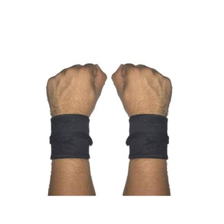 Munhequeira Tecido Crossfit Calistenia Lpo Musculação Strong Fist