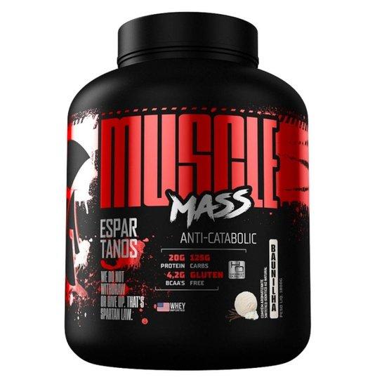 Muscle Mass Hipercalórico 3000g  Espartanos -
