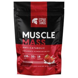 Muscle Mass Hipercalórico Pouch 1kg - Espartanos