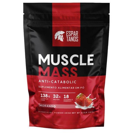 Muscle Mass Hipercalórico Pouch 1kg - Espartanos -