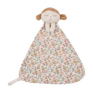 Naninha Boneca Em Suedine Com Estampa Naturais - Anjos Baby - Única - U