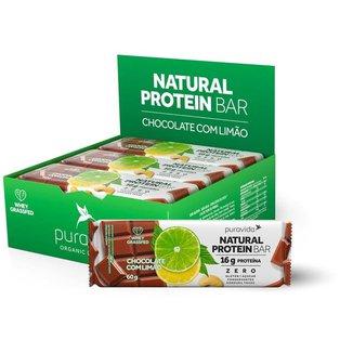 Natural Protein Bar (Cx c/ 12 Unidades de 60g) - Pura Vida