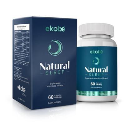 Natural Sleep Ekobé Suplemento Vitamínico Sono 60 Cápsulas - Unissex