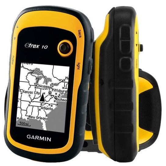 Navegador GPS Garmin eTrex 10 - Preto+Amarelo