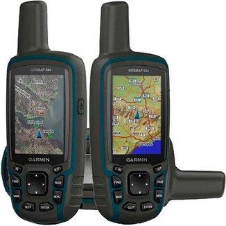 Navegador GPS Garmin GPSMAP 64x Mapa TopoActive América do Sul