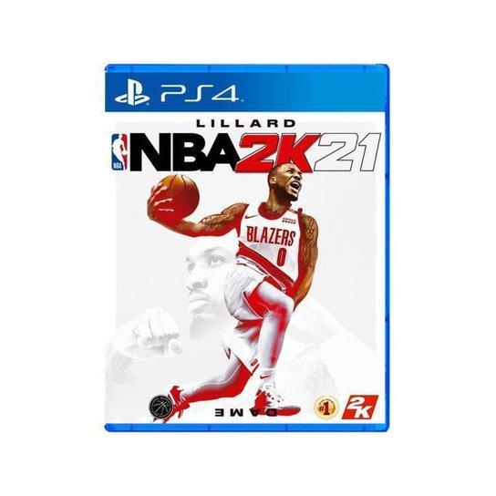 NBA 2K21 para PS4 - Azul