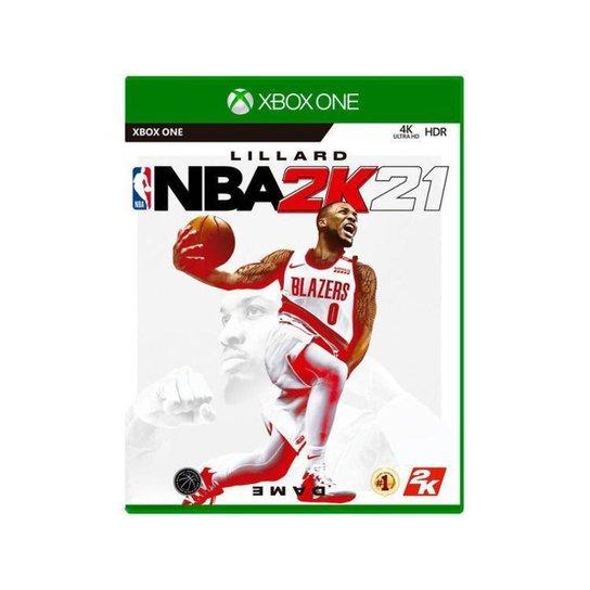 NBA 2K21 para Xbox One Take Two - Incolor