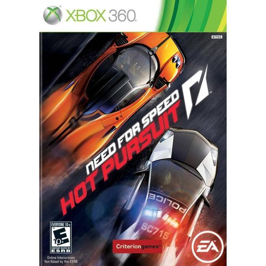 Need For Speed: Hot Pursuit - Xbox 360 - Incolor
