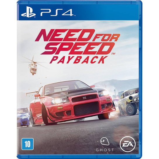 Need For Speed: Payback PS4 - Incolor