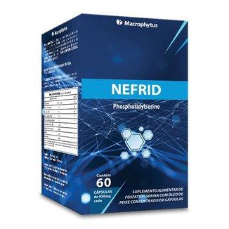 Nefrid 950mg 60 cápsulas (fosfatidilserina + ômega)
