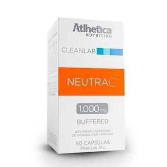 Neutra C 1000mg - 60 Cápsulas - Atlhetica Nutrition