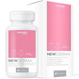 NewDerma Composto Antissinais 60 cáps