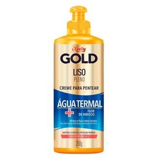 Niely Gold Liso Pleno - Creme de Pentear para Cabelos Lisos 250g
