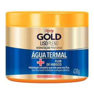 Niely Gold Liso Pleno - Creme de Tratamento para Cabelos Lisos 430g