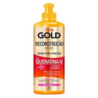 Niely Gold Reconstrução Potente Creme para Pentear Reconstrutor 250g