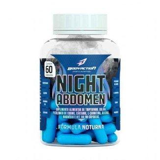 Night Abdomen - 60 Cápsulas - Bodyaction