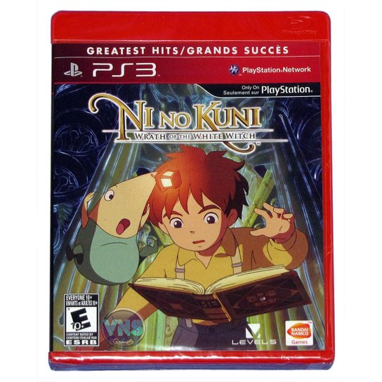 Nino Kuni Wrath Of The White Witch - Ps3 - Incolor