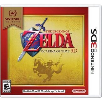 Nintendo Select The Legend Of Zelda Ocarina Of Tim