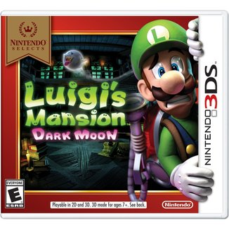 Nintendo Selects: Luigi's Mansion: Dark Moon - 3Ds