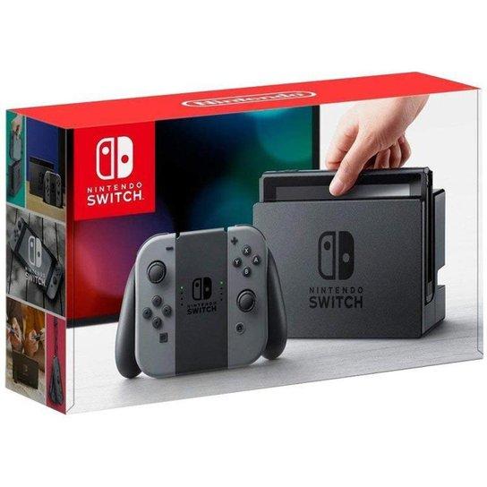 Nintendo Switch 32GB HAC-001-01 1 Controle Joy-Con - Cinza