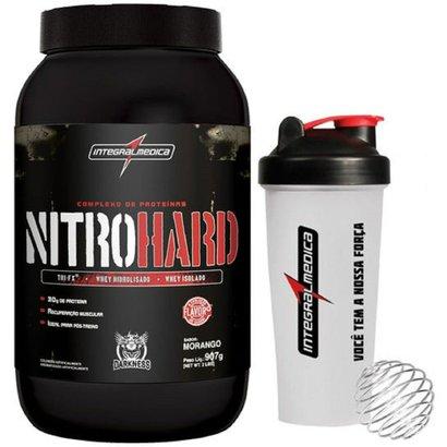 Nitro Hard 907 g Darkness + Coqueteleira – IntegralMédica