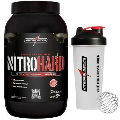 Nitro Hard 907 g Darkness + Coqueteleira - IntegralMédica