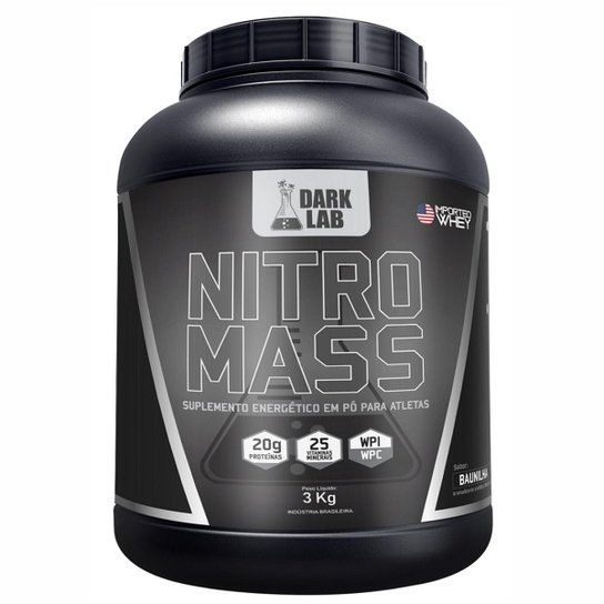 Nitro Mass 3Kg - Dark Lab -
