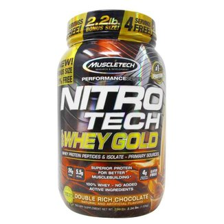 Nitro Tech 100% Whey Gold 999/1,02kg - Muscletech