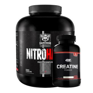 NitroHard – 1,8Kg– Darkness - Integralmedica - (Chocolate)