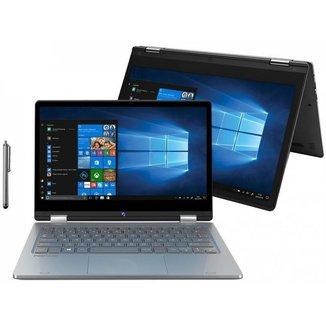 Notebook 2 em 1 Positivo Duo C464C Intel Celeron