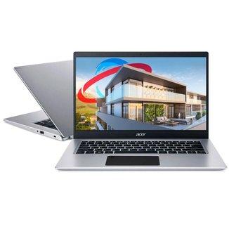 Notebook Acer A514-53G-51BK - Tela 14, Intel i5 1035G1, 8GB, SSD 256GB, GeForce MX350, Windows 10