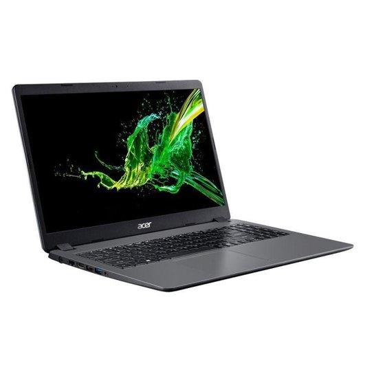 Notebook Acer Aspire 3 A315-54-561D Intel Core I5 4GB 256GB SSD 15,6' Windows 10 - Prata