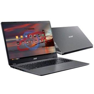 Notebook Acer Aspire A315-56-569F - Tela 15.6, Intel i5 1035G1, 20GB, SSD 256GB, Endless OS