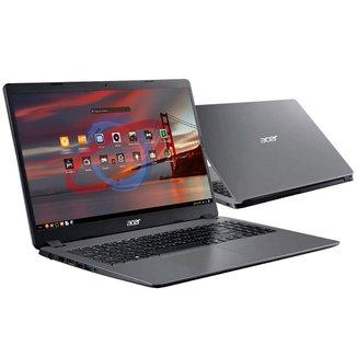 Notebook Acer Aspire A315-56-569F - Tela 15.6, Intel i5 1035G1, 8GB, SSD 256GB, Endless OS