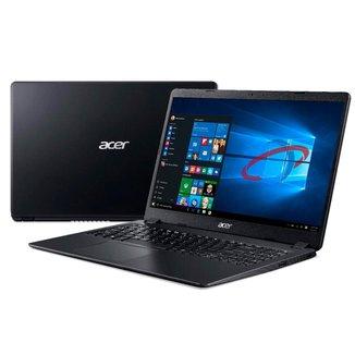 Notebook Acer Aspire A315-56-569F - Tela 15.6, Intel i5 1035G1, 8GB, SSD 256GB, Windows 10 Pro
