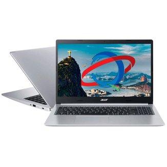 Notebook Acer Aspire A515-54-72KU - Tela 15.6 Full HD, Intel i7-10510U, 8GB, SSD 512GB, Endless OS