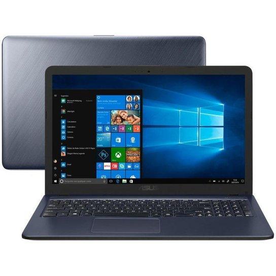 Notebook Asus VivoBook X543UA-GQ3430T Intel Core i3 4GB SSD de 256GB - Cinza